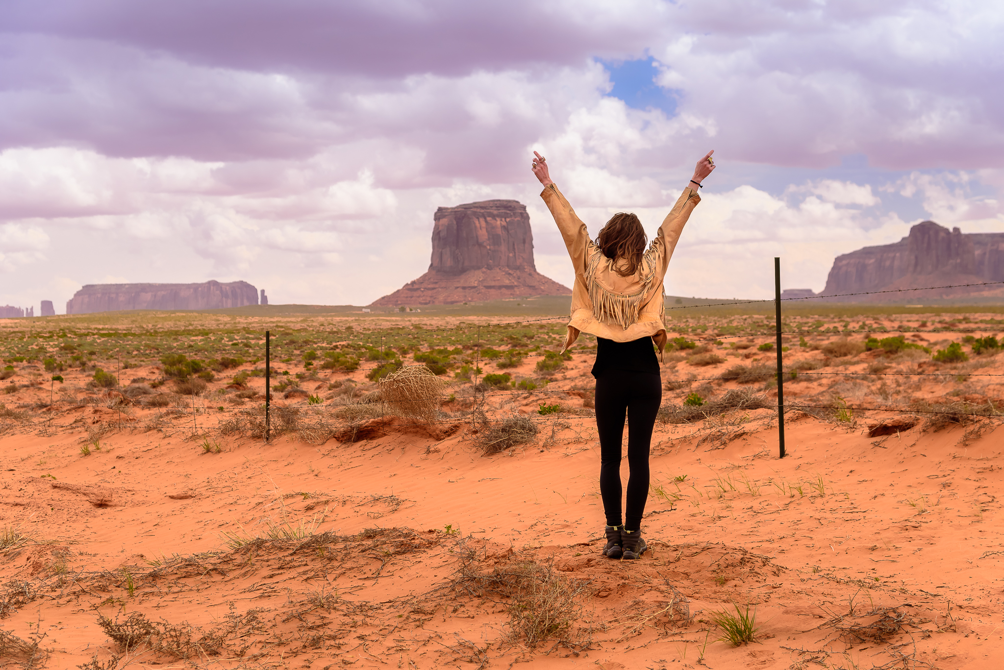 Magic finds you in the West.  Monument Valley, UT.