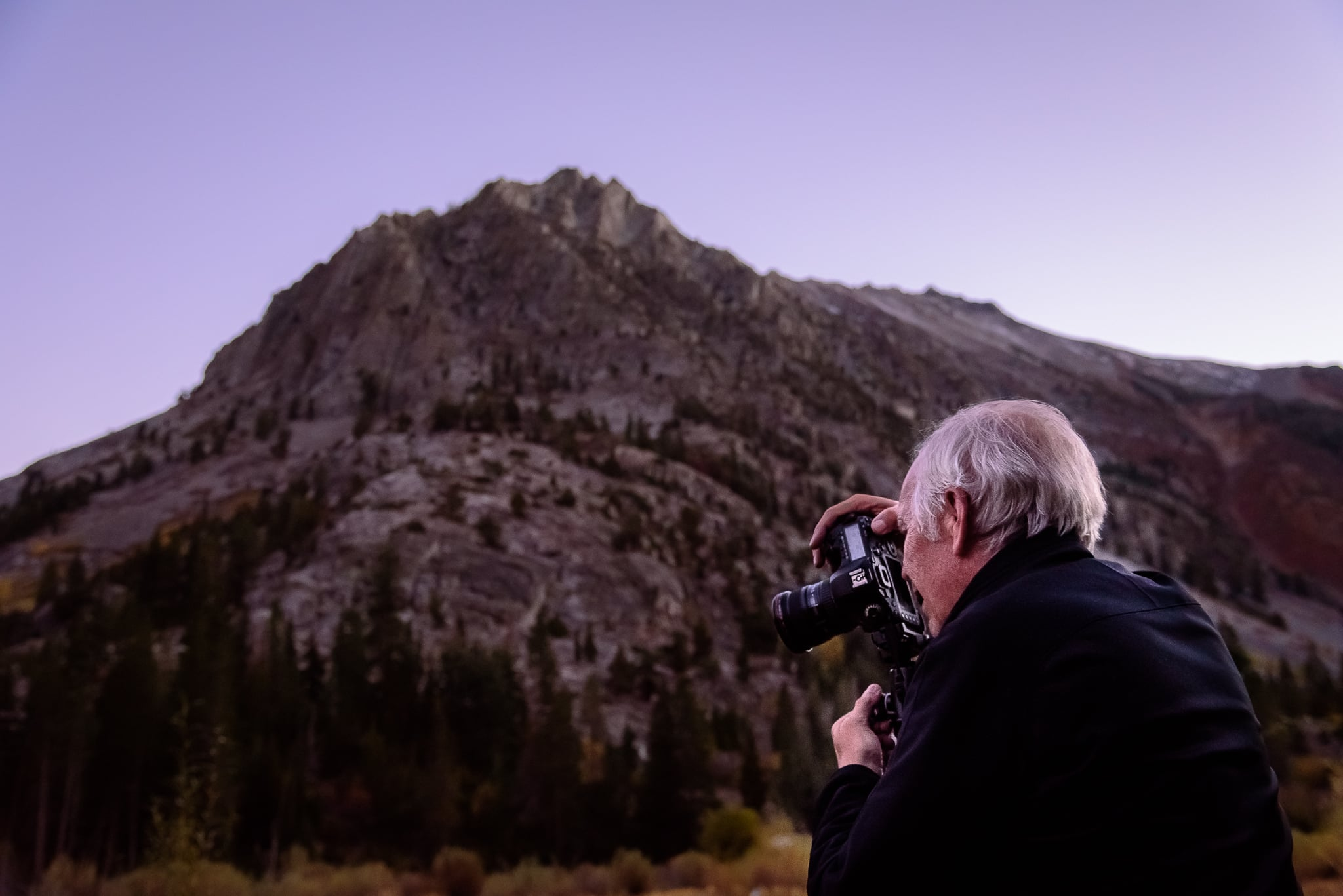 Lundy Canyon gave the group the high Sierra experience I was looking for. The evening provided some amazing twilight in addition to crystal clear star gazing.