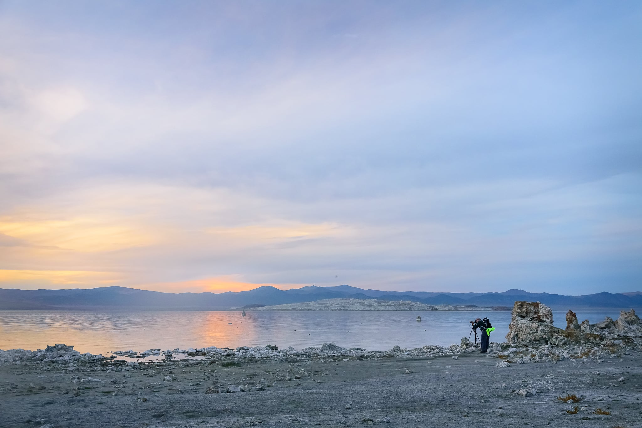 Before the light show. Mono Lake, CA.
