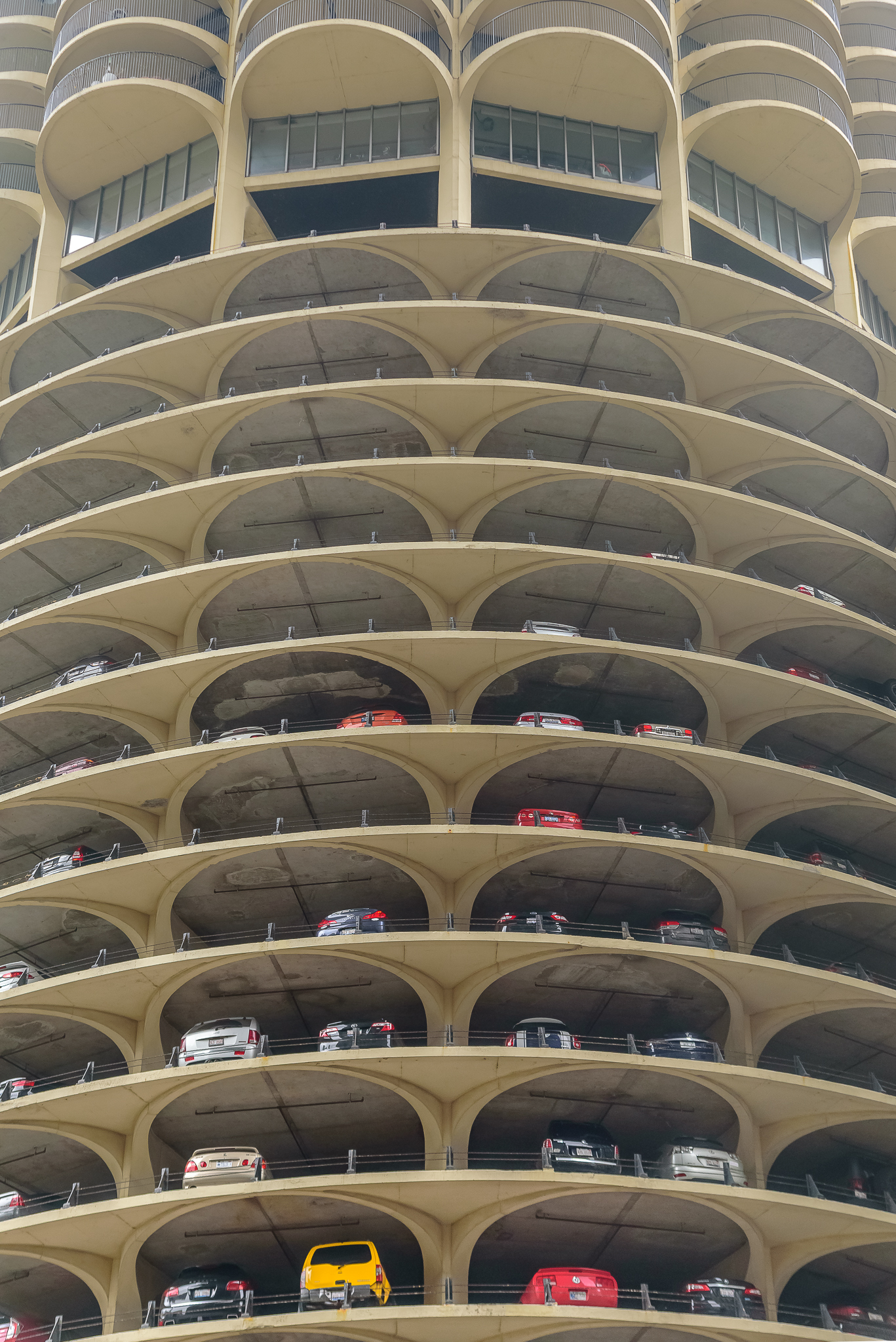 Tourist-ing, hard. Downtown, Chicago.