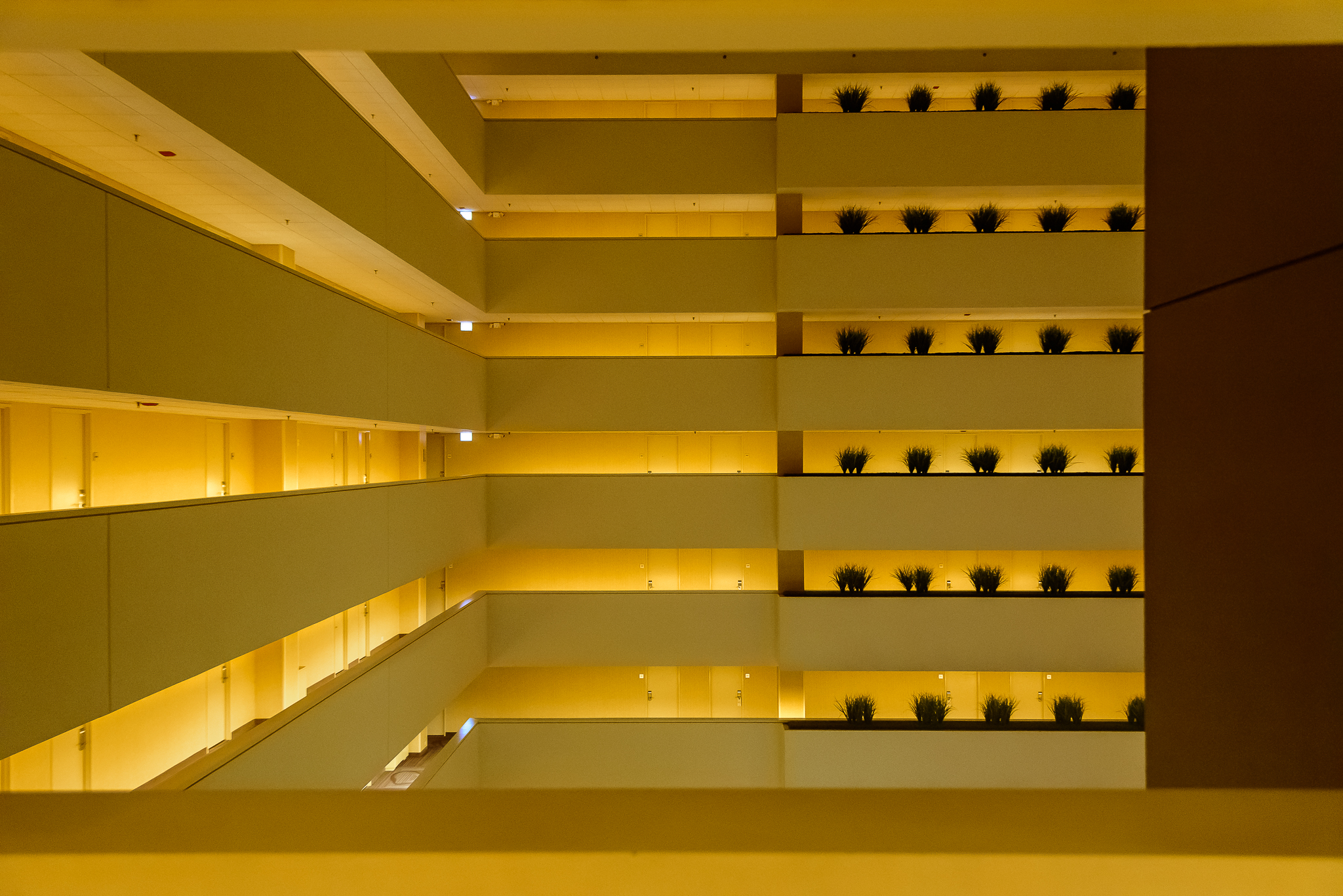 When the Holiday Inn has amazing lines, you know it's a city that values design. Downtown, Chicago.