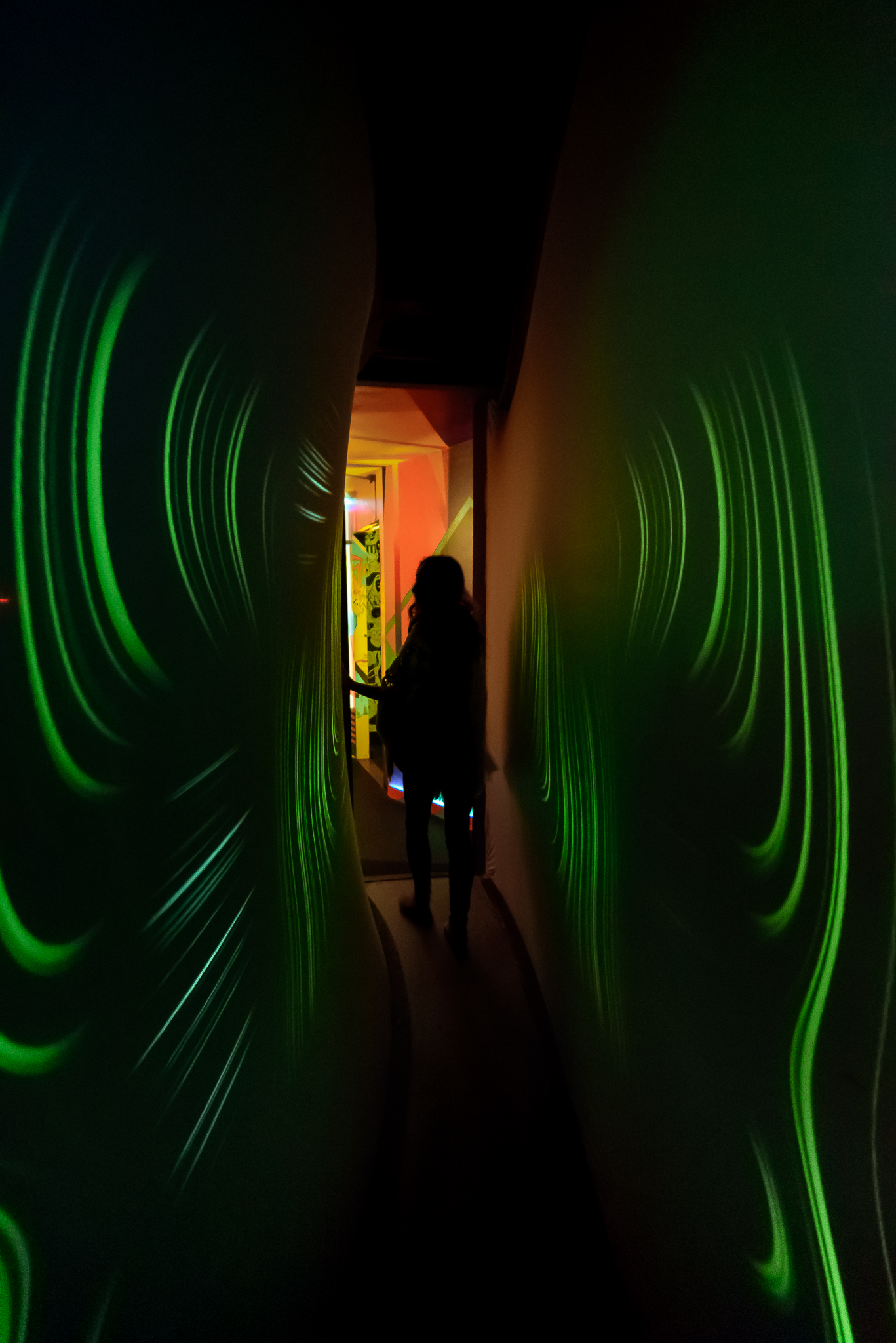 When walls give you wings.  Meow Wolf. Santa Fe, NM.