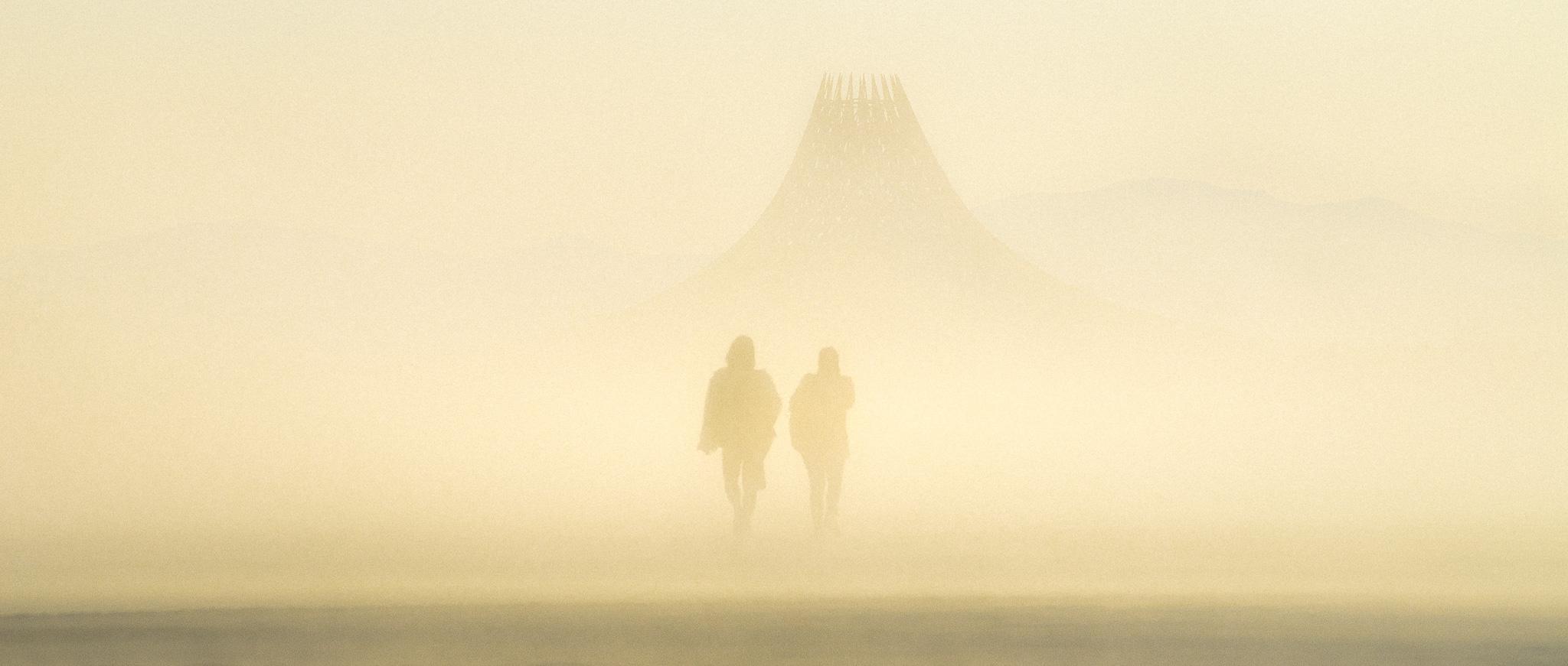 Martian Mornings. Black Rock City, NV.
