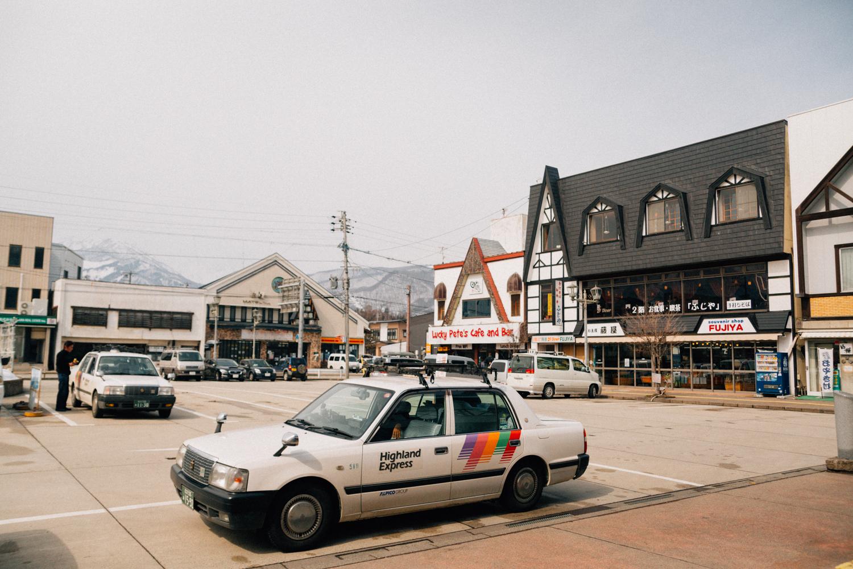 Hakuba Train Station