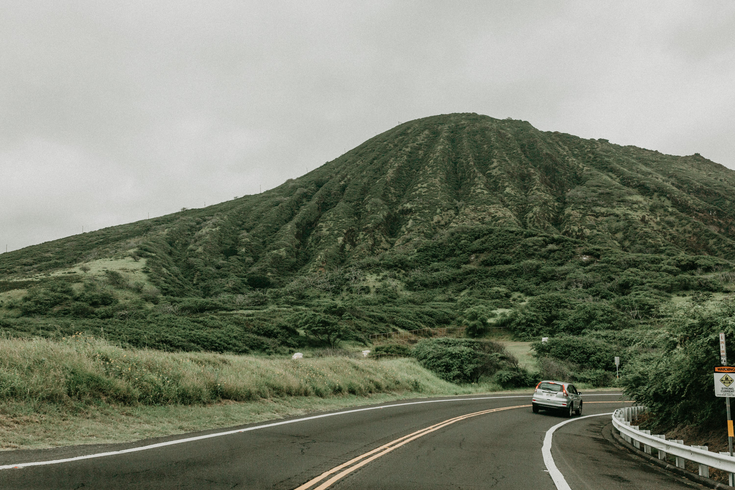 Every time we drove through the mountain via the highway, the mountain view always shook me so much. It's so close, so rich and giving. And it rained a bit at certain section and just created even more moods.