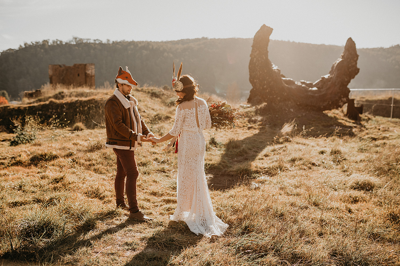 Sydney Boho Wedding Photographer Akaness Sharks Blue Mountains Elopement Feaure Polka Dot Bride-54.jpg