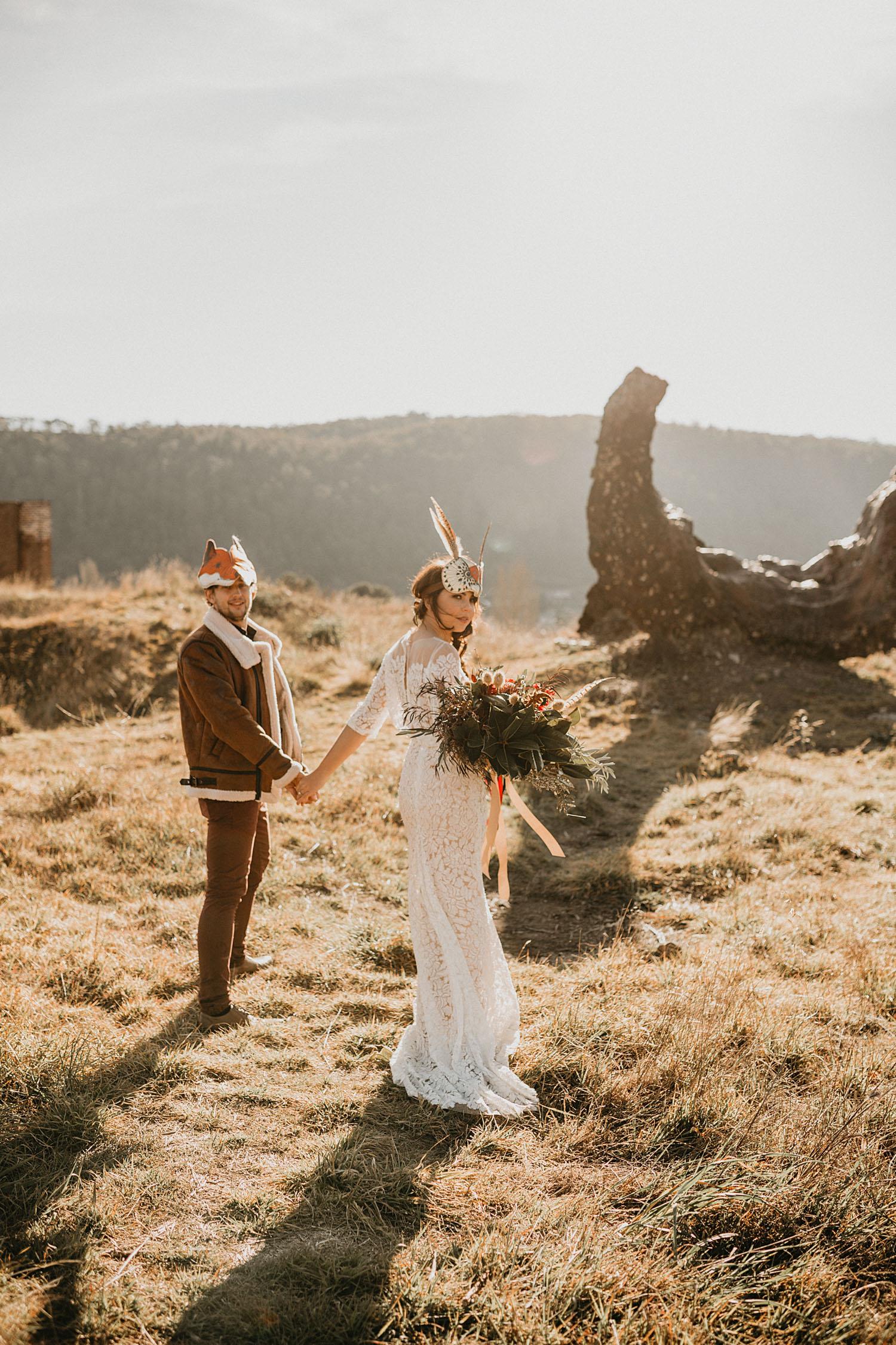 Sydney Boho Wedding Photographer Akaness Sharks Blue Mountains Elopement Feaure Polka Dot Bride-55.jpg