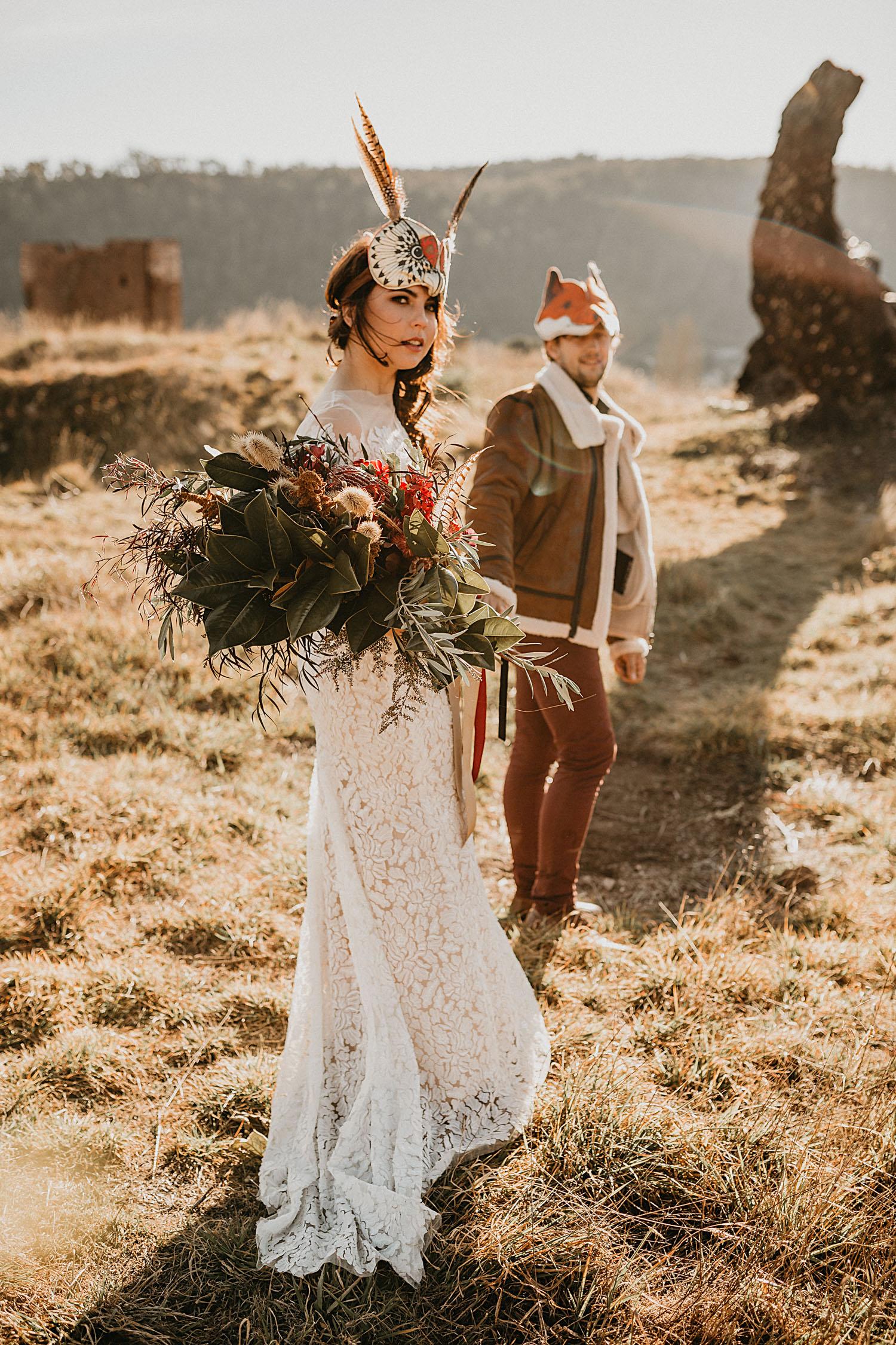 Sydney Boho Wedding Photographer Akaness Sharks Blue Mountains Elopement Feaure Polka Dot Bride-56.jpg