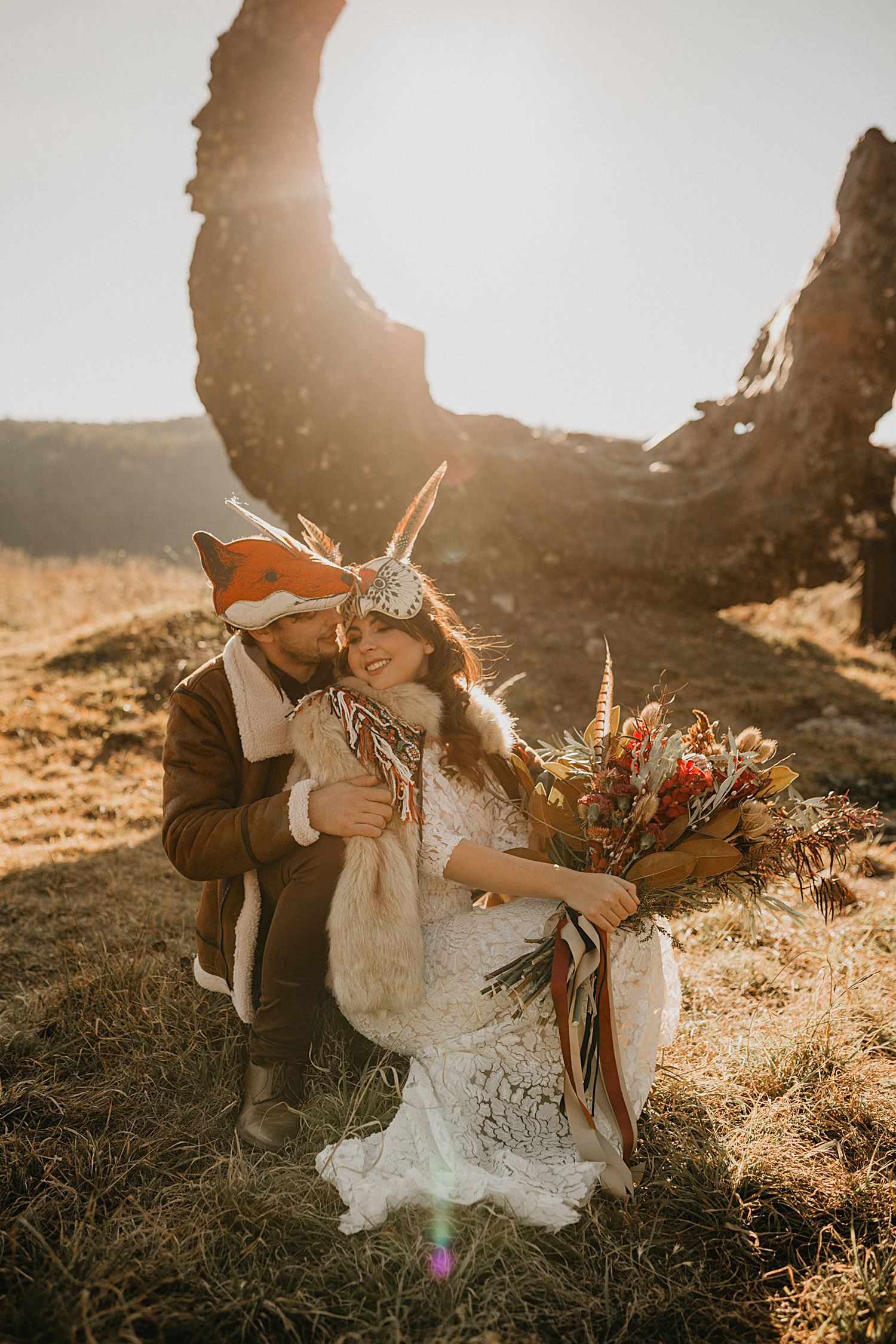 Sydney Boho Wedding Photographer Akaness Sharks Blue Mountains Elopement Feaure Polka Dot Bride-61.jpg