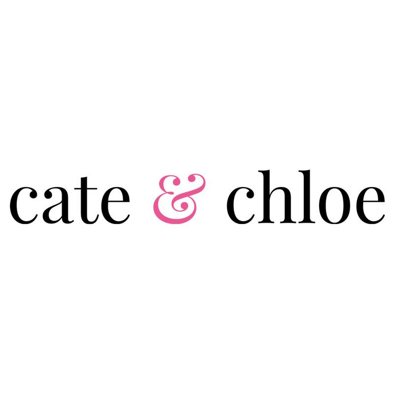 Brand identity for   Cate & Chloe   jewelry brand, 2016.