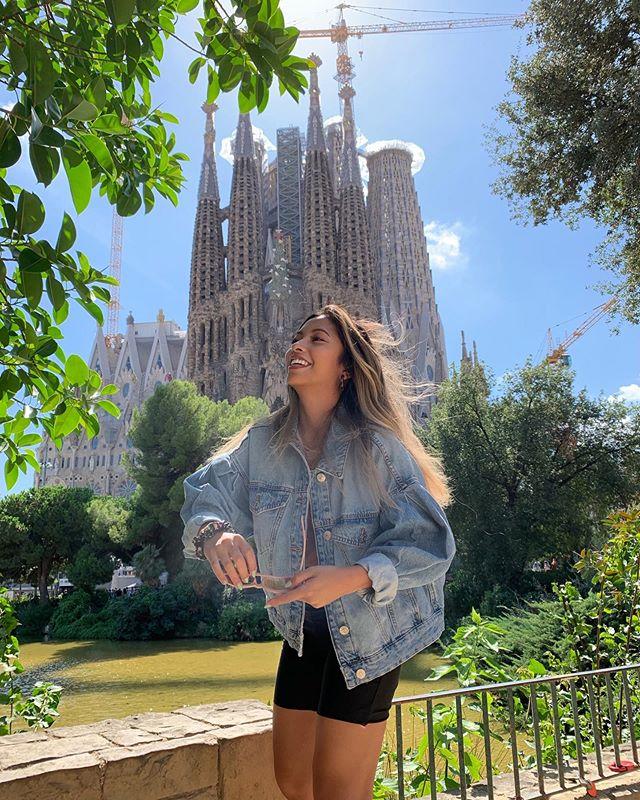 🌬blown away - @arielladayan #barcelona #lasagrada #spain