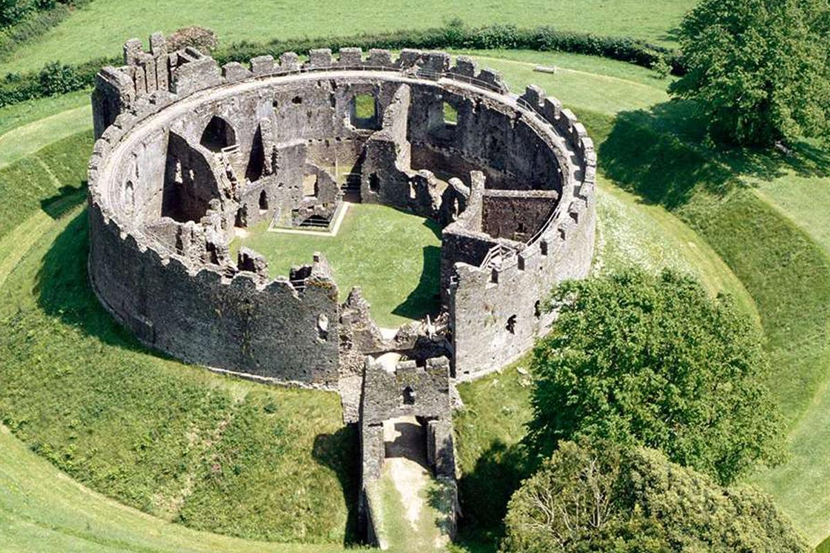 Restormel Castle Keep