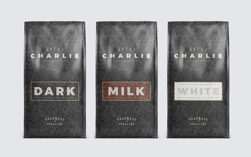 Hotel Charlie —Visually rich brand identity