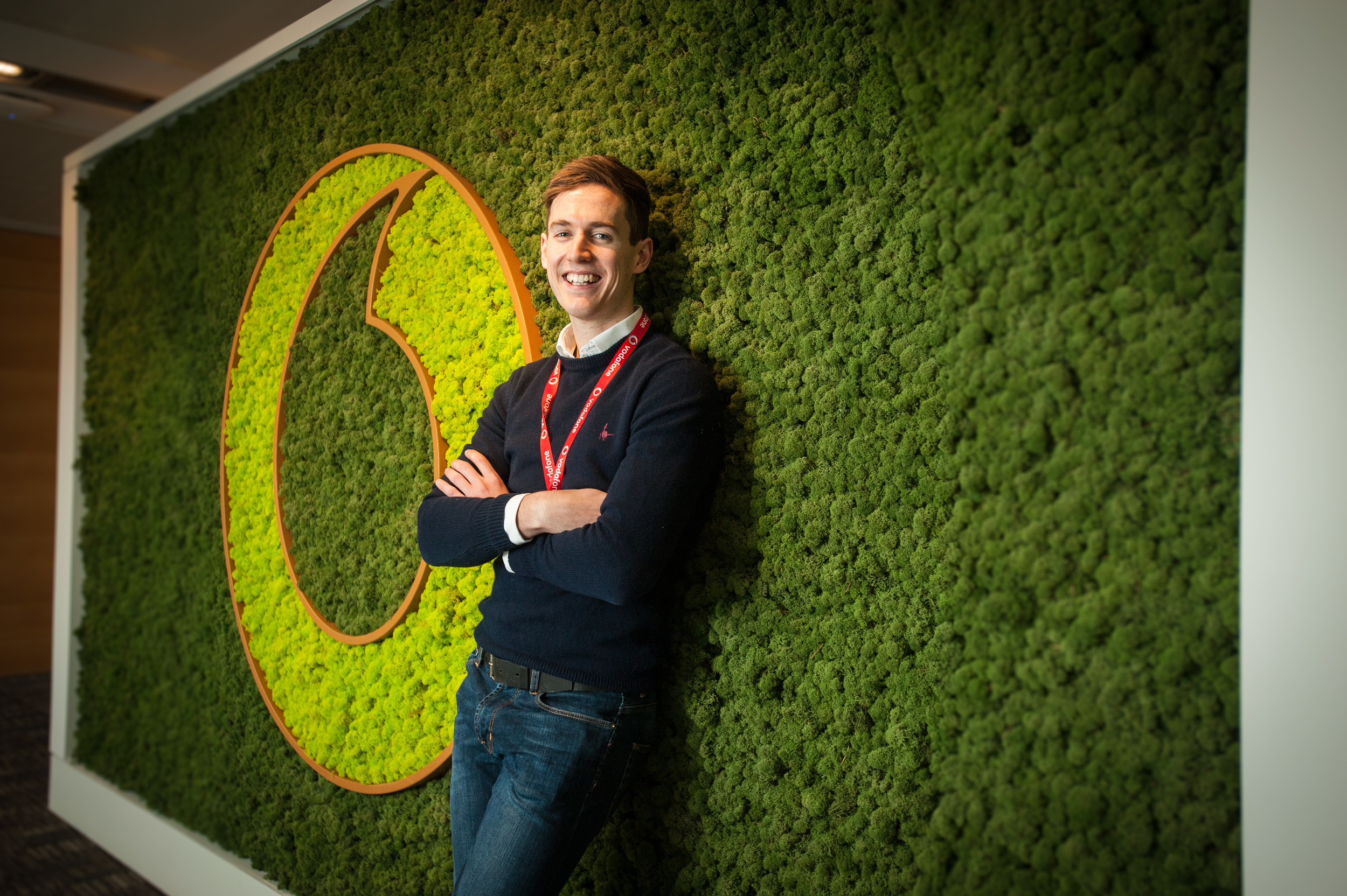 I recently had the chance to work at Vodafone HQ in Newbury. The site is absolutely enormous, I had no idea that it is the worlds second largest telephone company, not bad considering their first office was above a curry house in Newbury.