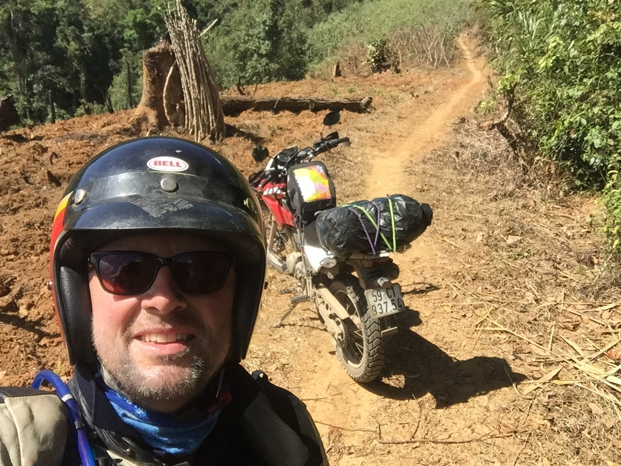 Once again my old buddy Mark and I went off seeking adventure riding dirt bikes from Hanoi to Saigon along the Ho Chi Minh Trail.