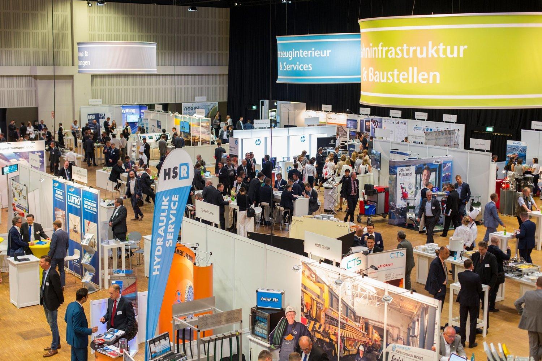 Exhibition Areas Railway Forum Berlin
