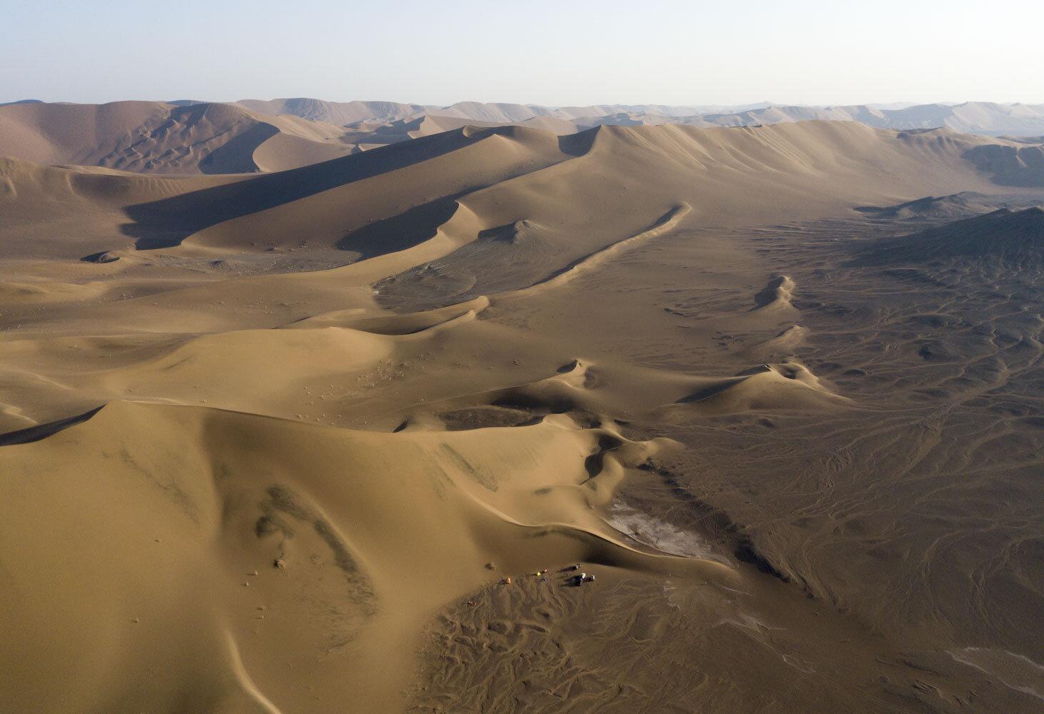 IRAN professional desert expedition — RO