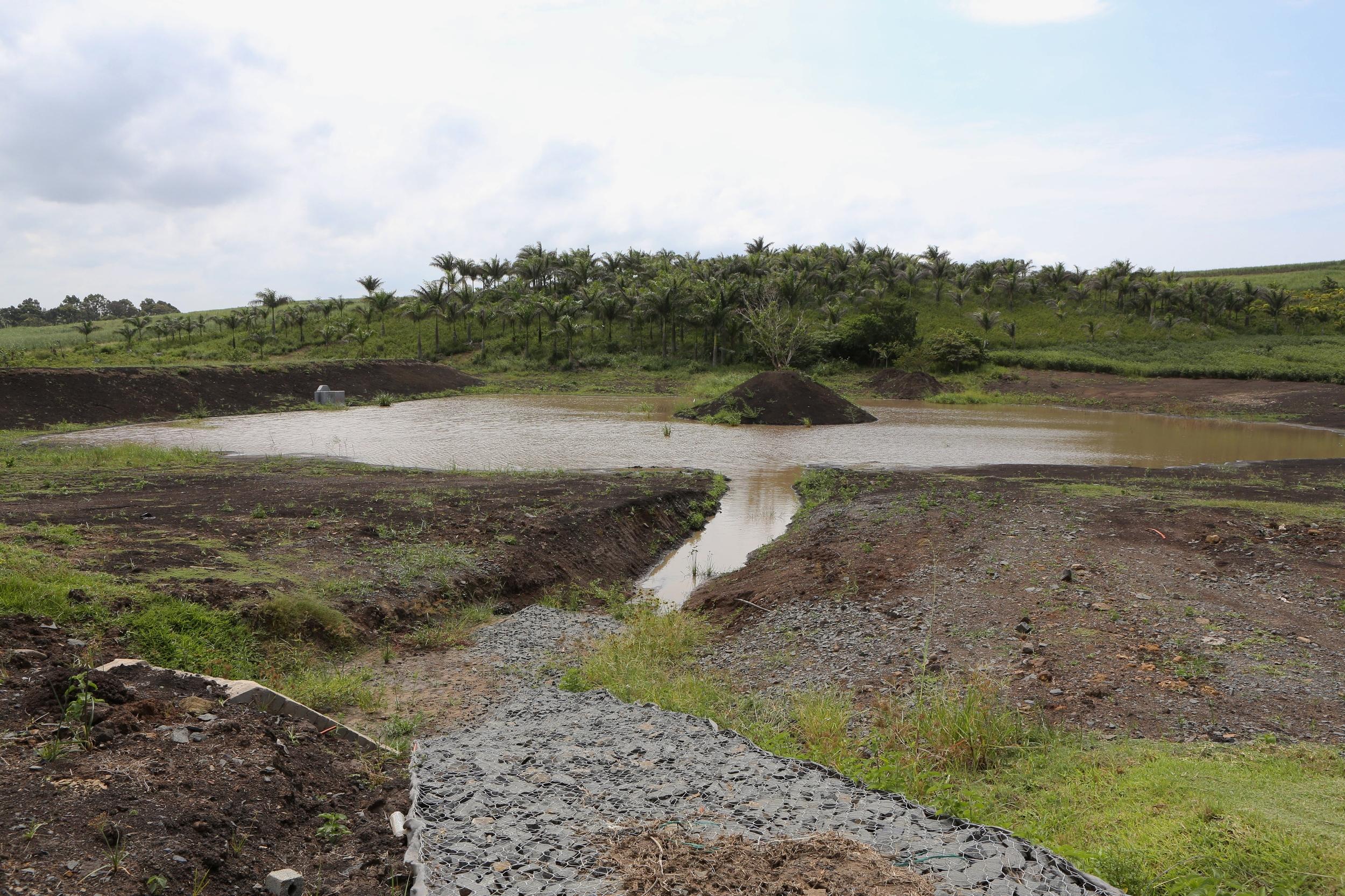 Westwood Plant Hire | Dam Building