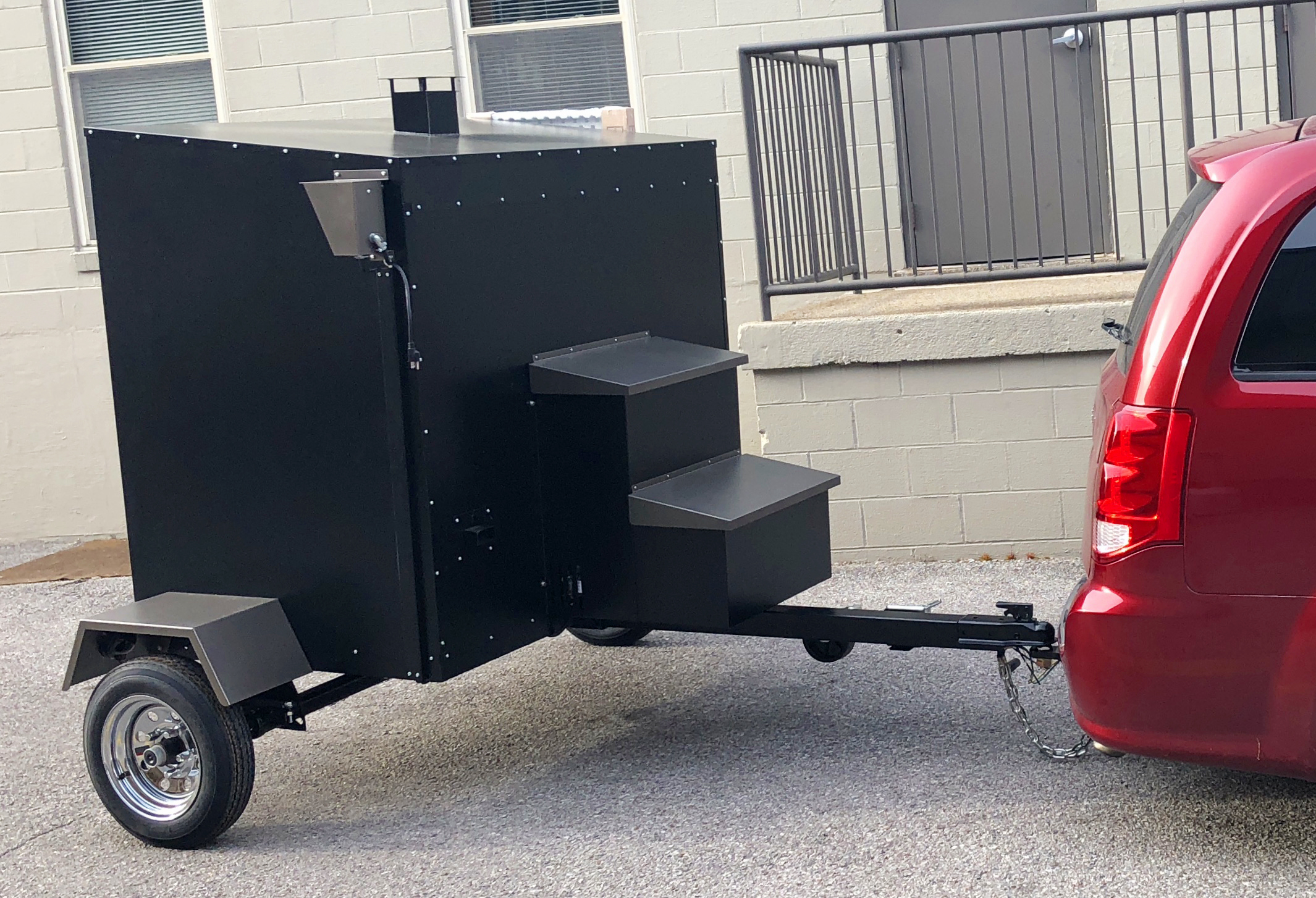 Our New Traeger Commercial Smoker!