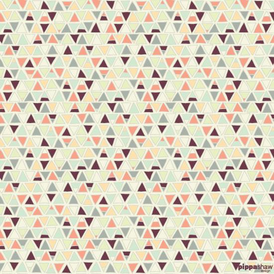 Tiny Triangles pattern (original version)