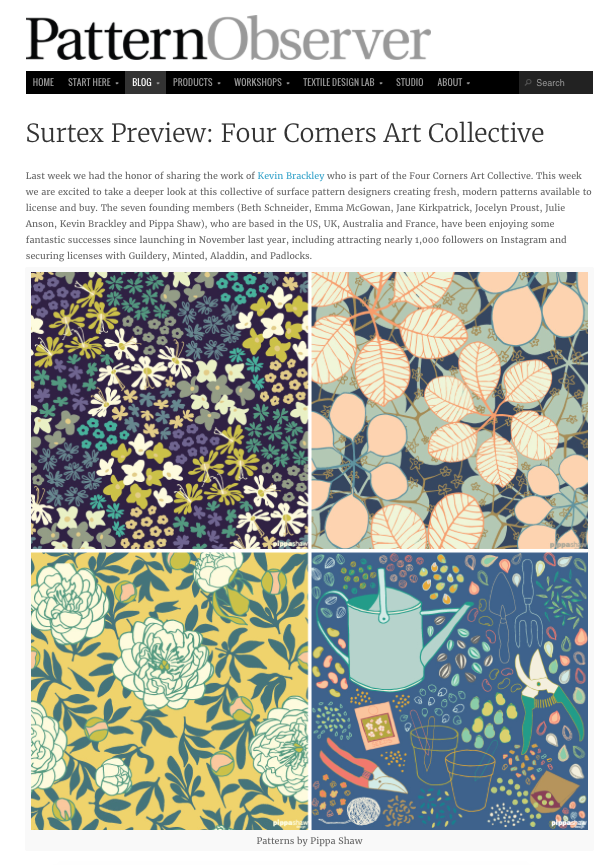Four Corners Art Collective feature