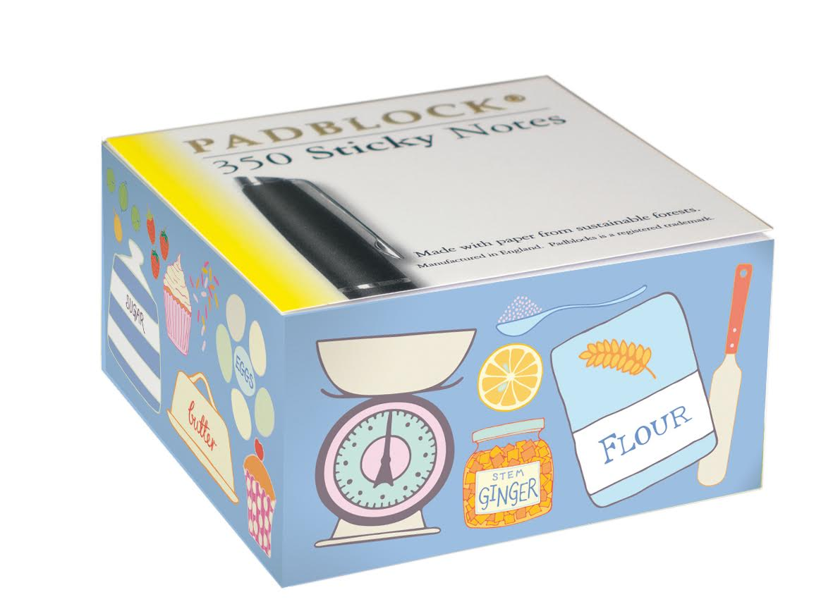 Pippa Shaw Padblocks Blue Baking sticky notes.jpg