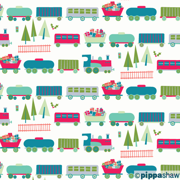 A Christmas train packed full of presents for all the kids (and big kids) out there (day 1)