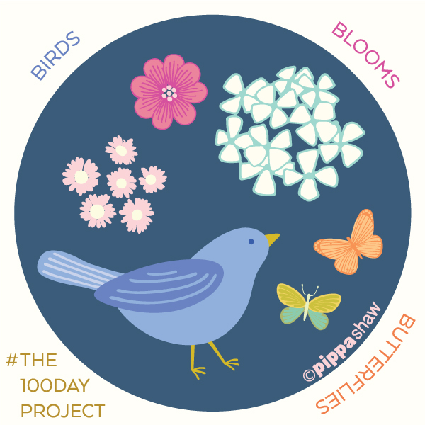 birds, blooms and butterflies