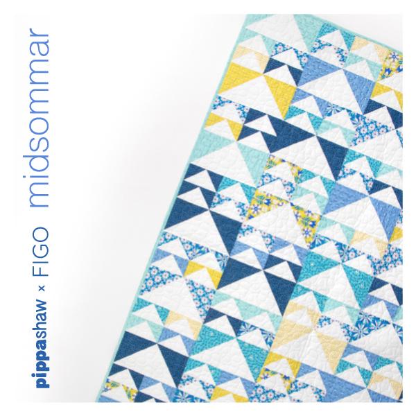 Geese in Flight quilt pattern  by Jeni Baker