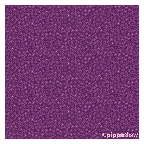 'Ditsy Floral' in purple, from midsommar collection for FIGO Fabrics