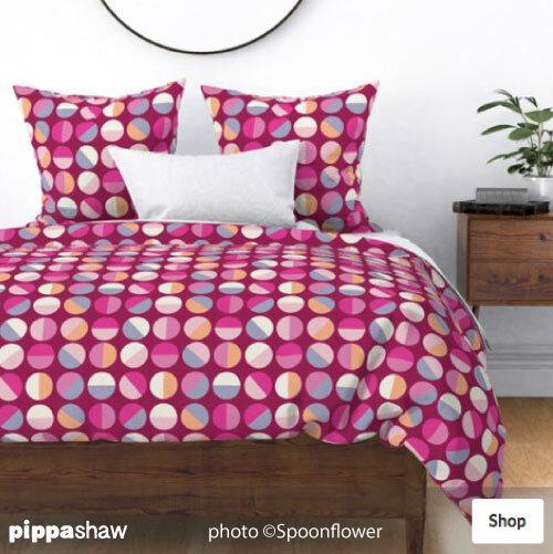 Half circles duvet set by Pippa Shaw