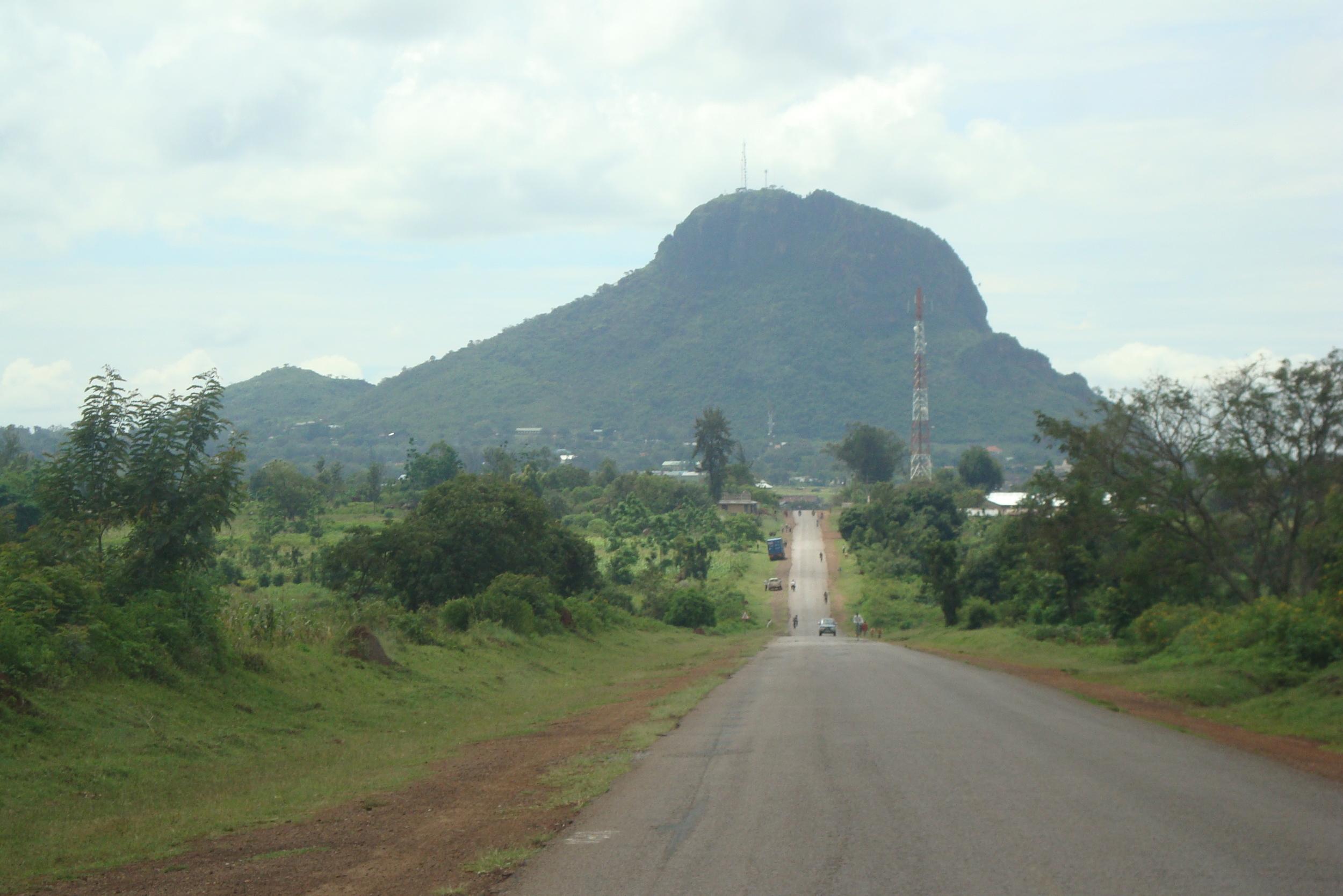 Tororo Rock in Eastern Uganda
