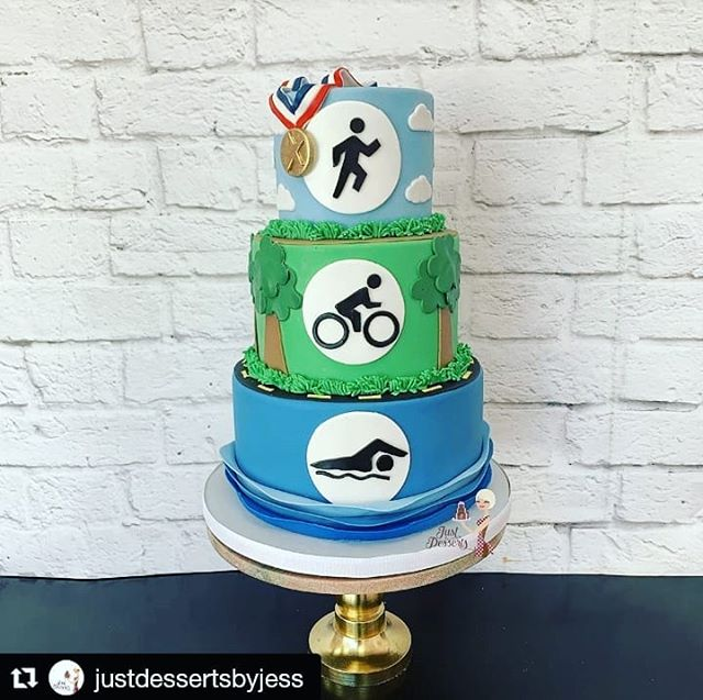 It's Friday and you deserve some cake - whether you're a triathlete like our groom from this past Saturday or not. TREAT YO'SELF! @justdessertsbyjess #treatyoself #cakesofinstagram #groomscake #triathlete #cake #uniqueweddingideas #nyweddings #nyweddingplanner #hudsonvalleyweddings #westchesterweddings #summerweddings #ido #shesaidyes #weddingcoordinator #weddingseason #weddingdecor #weddingdetails