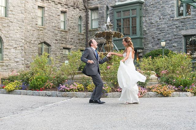 That feeling when you're about to marry your best friend.  @keepitcapturedweddings  #castle #nyweddings #nyweddingplanner #hudsonvalleyweddings #westchesterweddings #summerweddings #ido #shesaidyes #weddingcoordinator #weddingseason #castleweddings #weddingday #happywife
