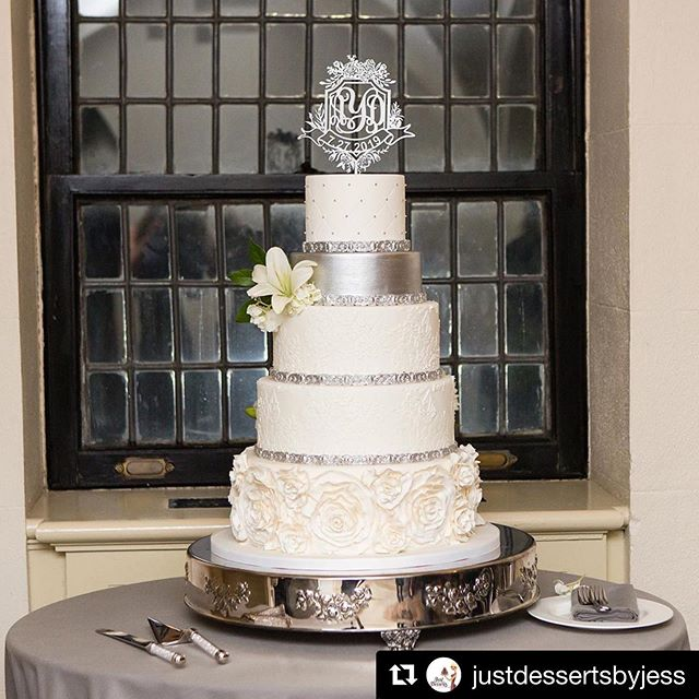 Another beautiful (and delicious!) creation by @justdessertsbyjess  #Repost @justdessertsbyjess with @get_repost ・・・ Ribbon Rose and Lace Wedding Cake  @somethingblueny @josephrichardflorals @keepitcapturedweddings @castlehotelandspa #customcakes #weddingcake #weddingplanning #weddingseason #weddingideas #westchesterweddings #hudsonvalleyweddings #laceweddingcake #ribbonrosecake #ribbonrose #lilies #fondantweddingcake #weddingday #weddingdetails #bridebook #bookofcake #bridalshower #bridalinspiration #foodblogger #cakeart #justdessertsbyjess