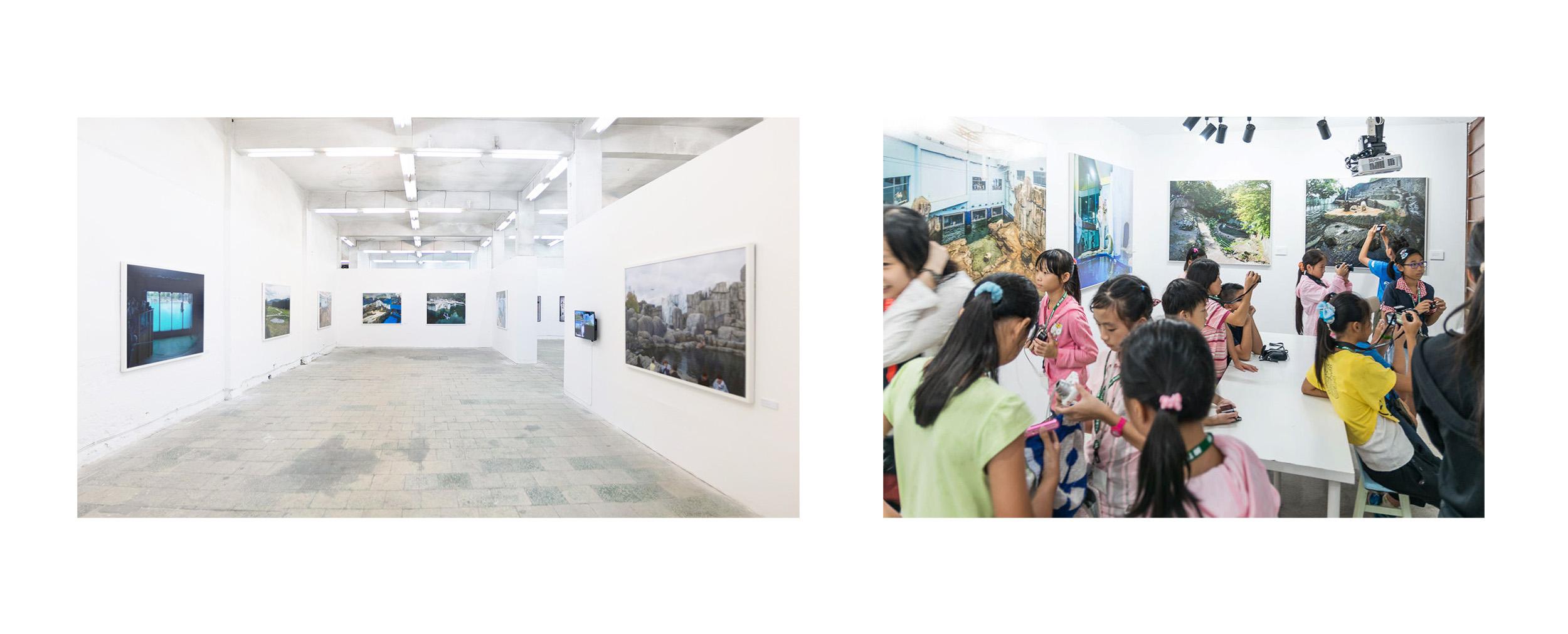 Lianzhou Foto 2016 (Left), Wanderer Studio 2015 (Right)