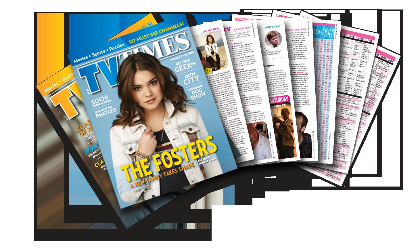 TV Feature Magazines