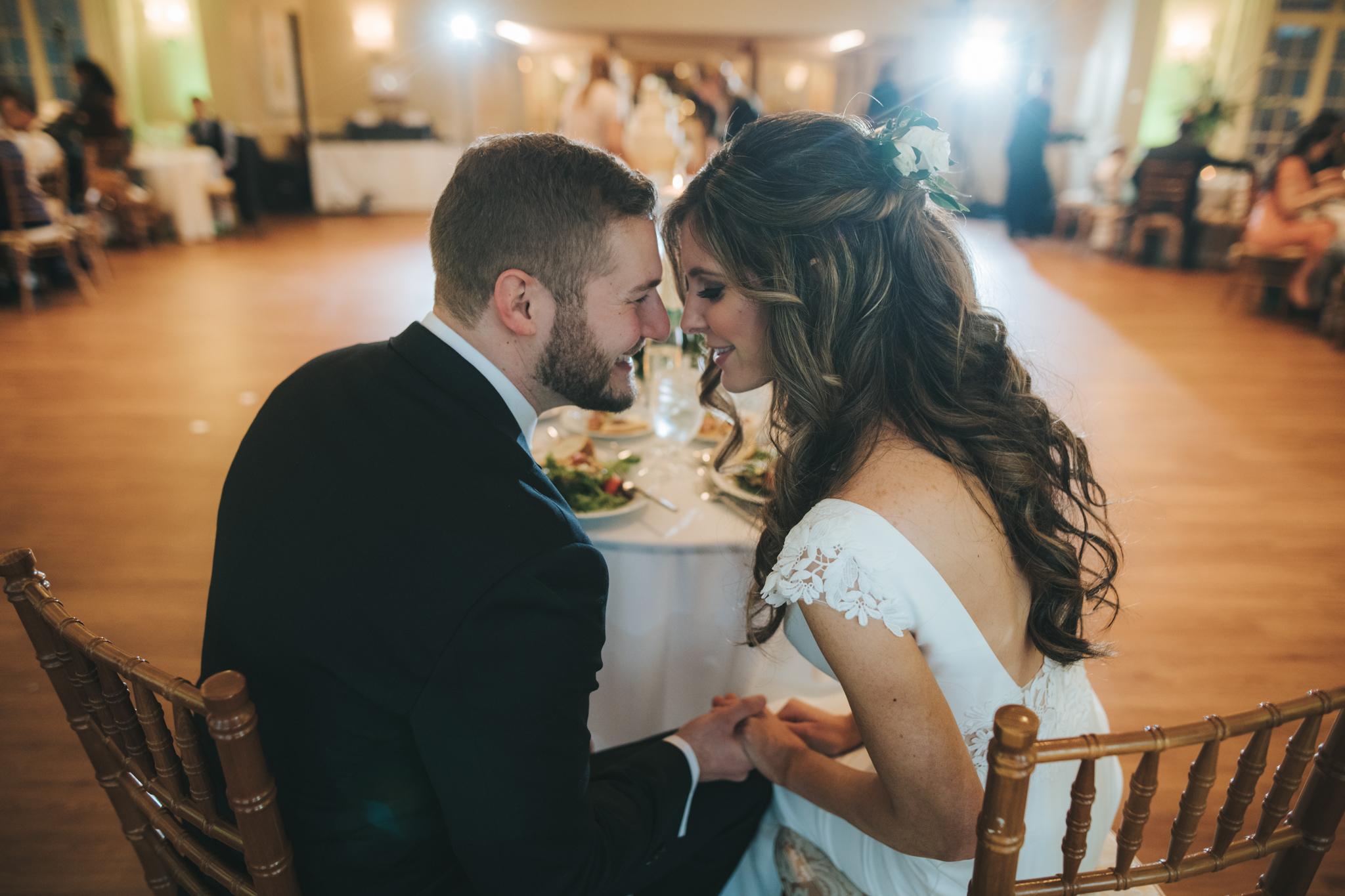 Lauren + Chris - A Glidden House Wedding by Dennis Crider Photography