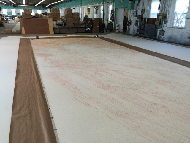 Wood grain layer - July 29