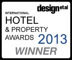 Design et al. Hotel and property awards 2013 winner