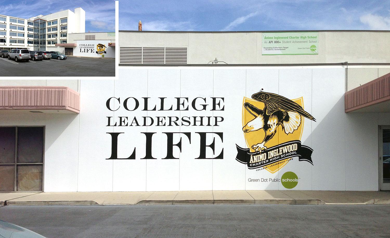 Animo High School, Signage
