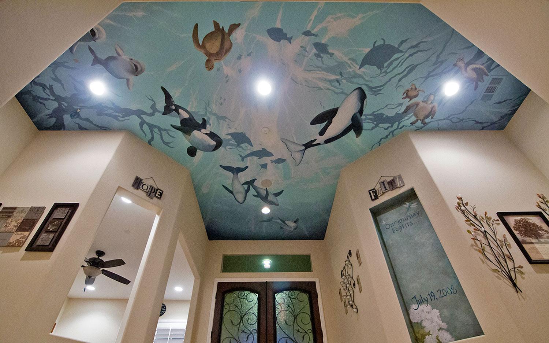 Foyer, Underwater Ceiling
