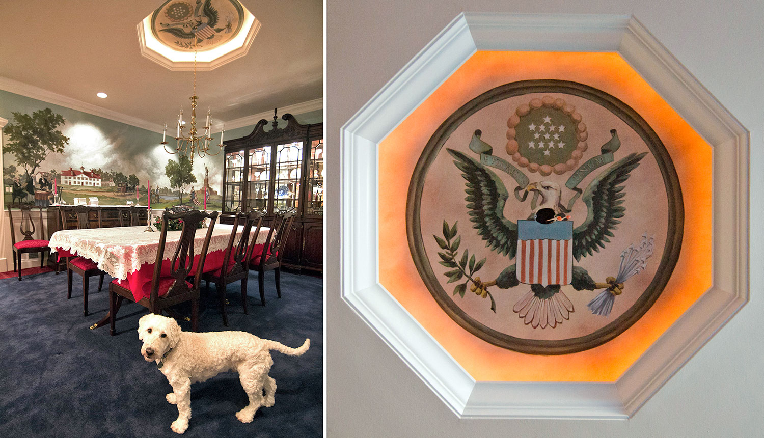 Dining Room, Great Seal of the U.S.