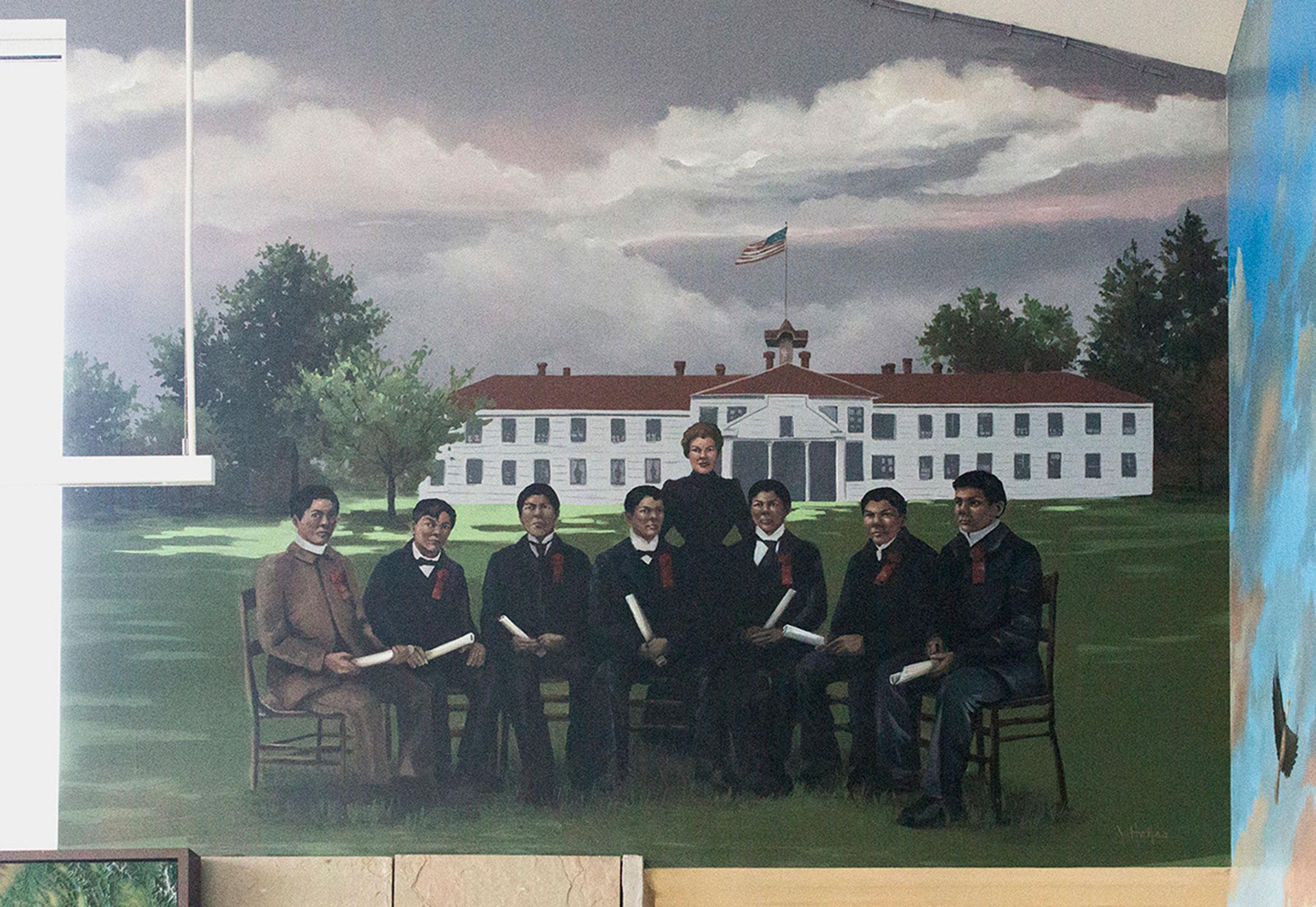 "Mural 4: ""Assimilation"""