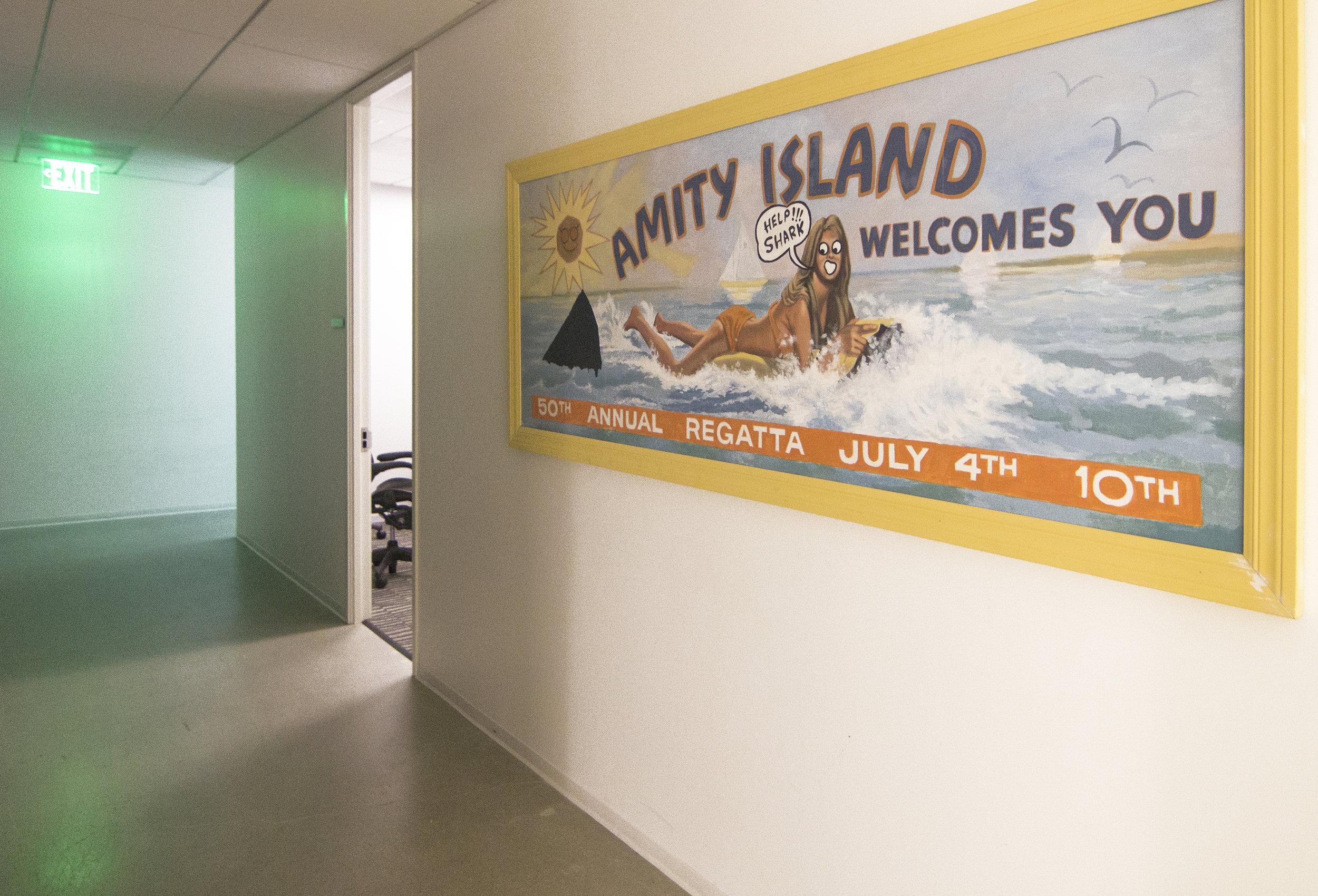 Jaws Billboard, Production Studio