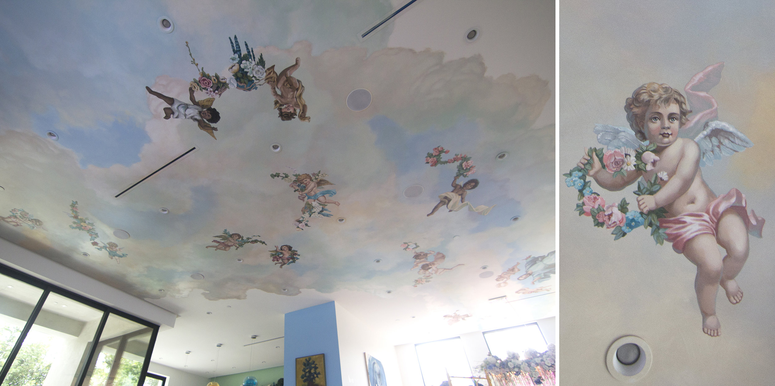 Clouds with Cherubs