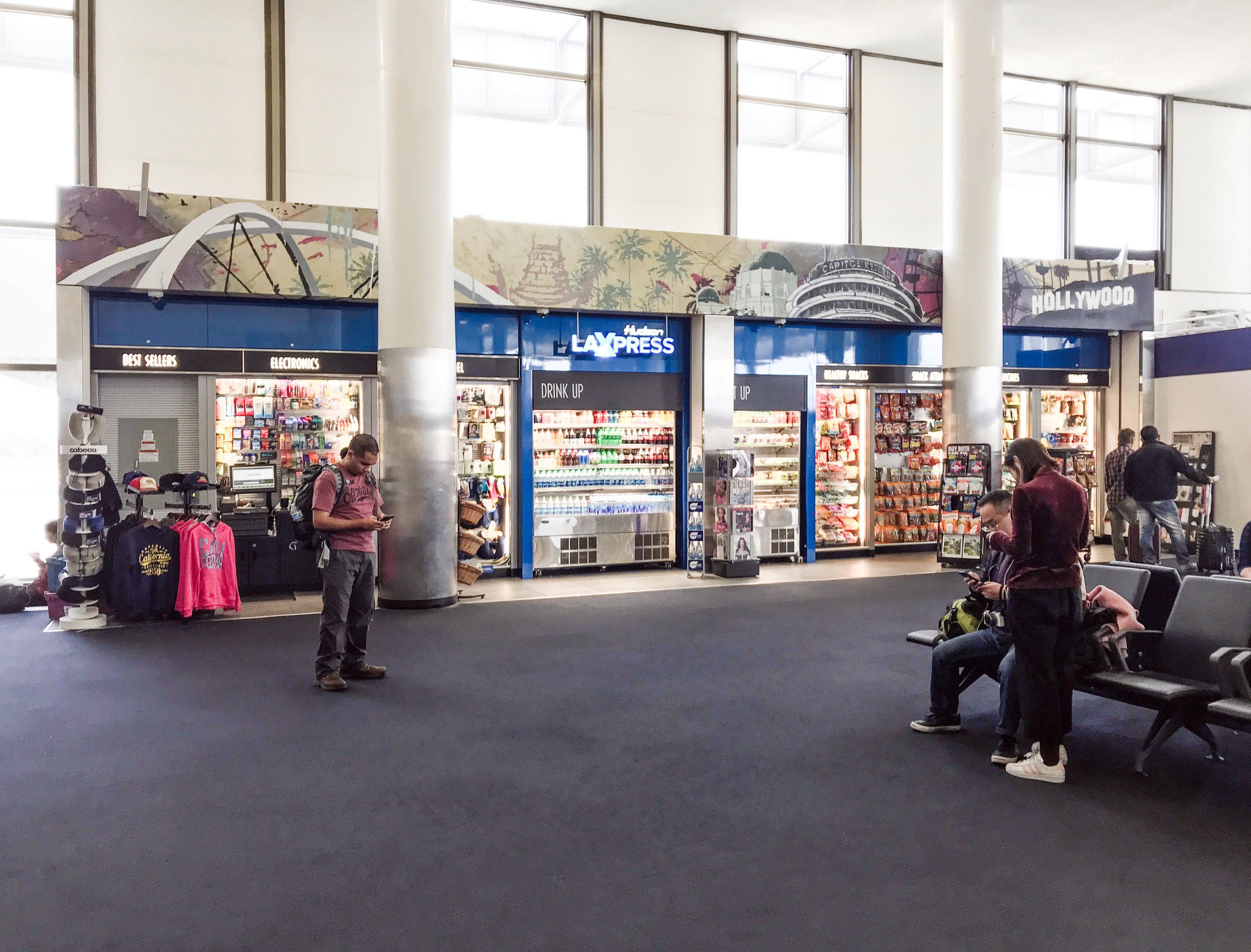 LAX Airport, Hudson News Terminal 3, Los Angeles, CA