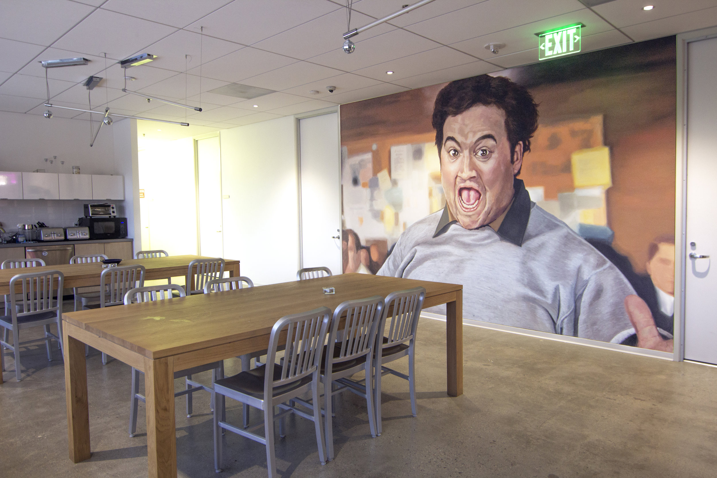 Animal House Mural, Production Company, Beverly Hills