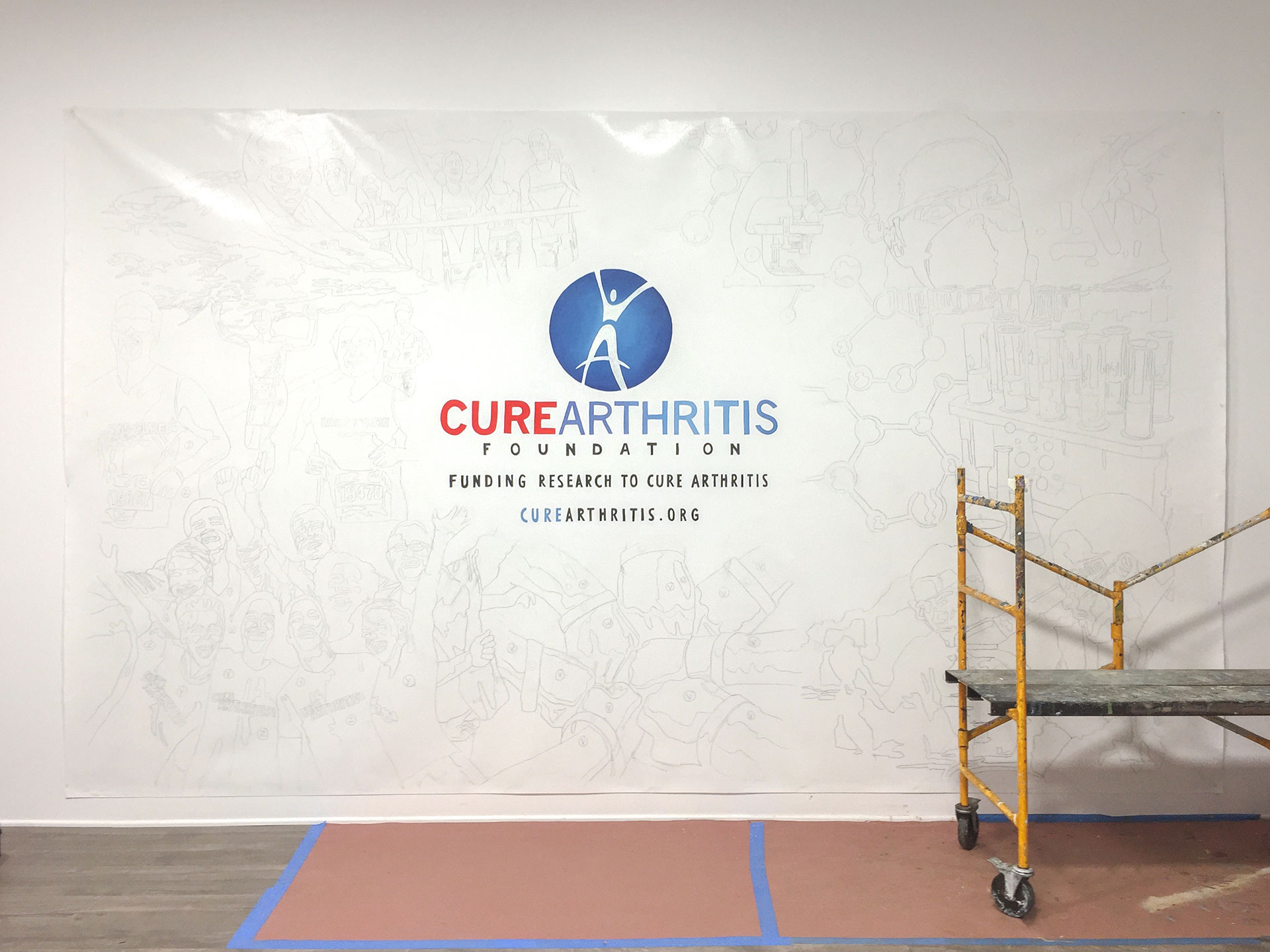 Paint-by-Number, Cure Arthritis Community Event