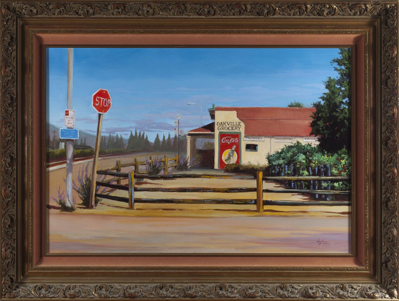 Oakville Grocery, Fine Art Landscape